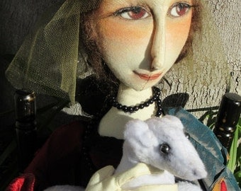 Cecilia...Lady with an Ermine