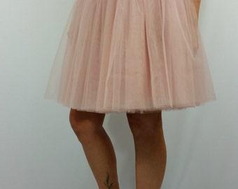 "Tulle Tutu Skirt, Women Tutu Skirt, Princess Skirt,  Wedding Skirt - – ""Choose to be me' / EXPRESS SHIPPING / MD 10083"