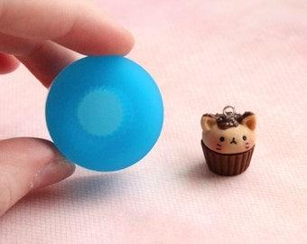 14 mm Mini Cupcake Base Mold Embellishment Flexible Food Safe Oven Safe Kawaii Resin Polymer Clay Candle Wax Candy
