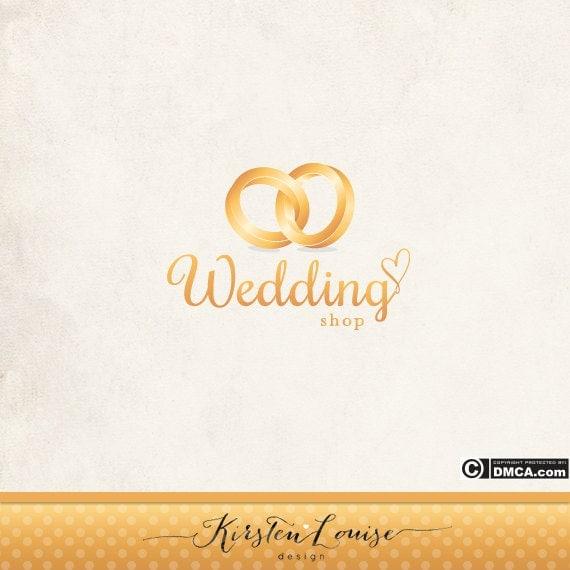 Wedding Rings Logo Wedding Business Logo
