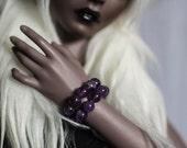 Amethyst BJD MSD Bracelet