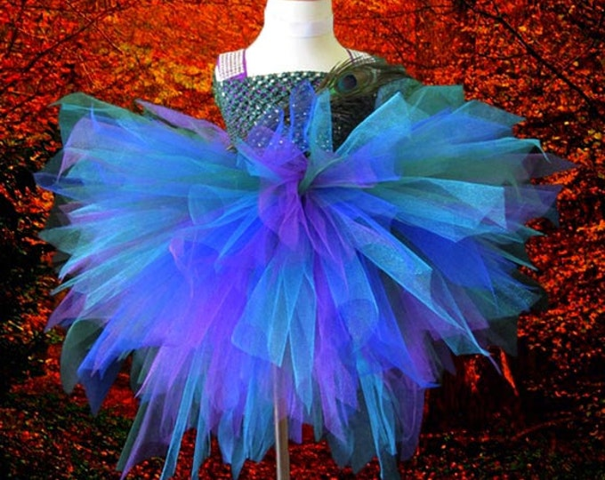 Peacock Themed Tutu
