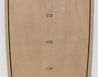 Thin Ply Surfboard-shaped growth chart