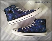 Galaxy Painted Shoes / Custom Converse