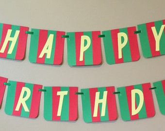 Goodnight Moon Happy Birthday Banner