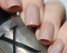 Holographique - Spectraflair Topcoat - Make Any Nail Polish Into A Linear Holographic Polish - Rainbow Polish - Prism Effect