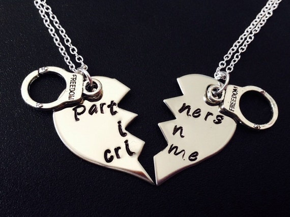 partners in crime necklace sted necklace matching