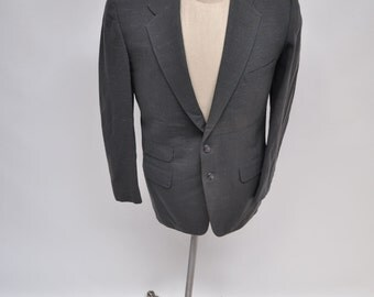 1950s vintage blazer jacket suit sports coat atomic flecks flecked rockabilly size 40