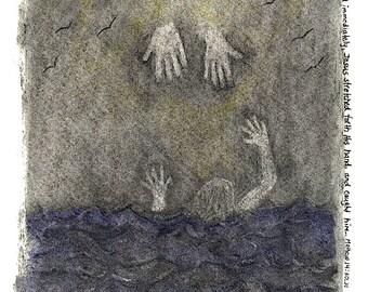 Fine Art Print: Little Faith/ Gicleé/ Reproduction