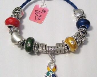 623 - CLEARANCE - Autism Awareness Bracelet