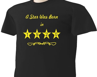 97th Birthday T-Shirt 97 Years Old A Star Was Born In 1920