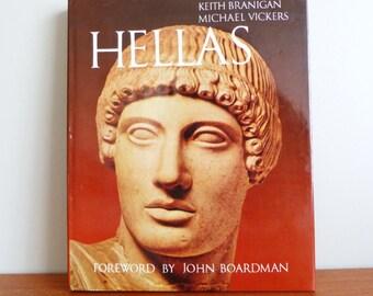 1980 Hellas - Keith Branigan - Michael Vickers - John Boardman - Classical History - Ancient Greece Book
