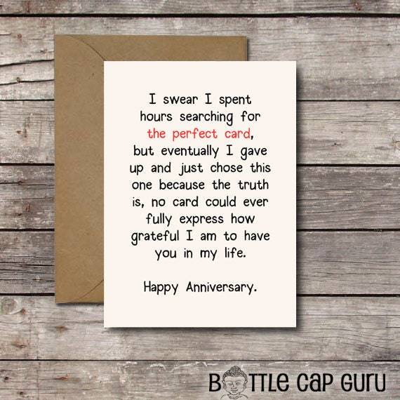 Perfect For Anniversary Cards And