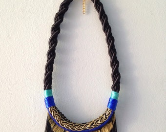 Midnight Sun Rope Necklace