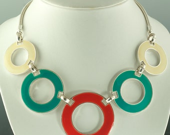 Mod Circle Necklace