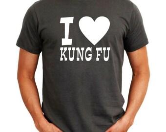 I Love Kung Fu T-Shirt