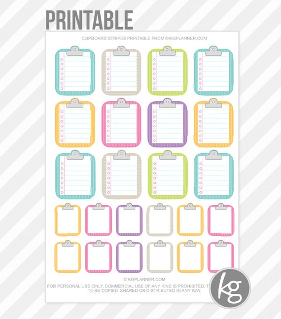 Free Printable Stickers For Planners Printable Planner Stickers