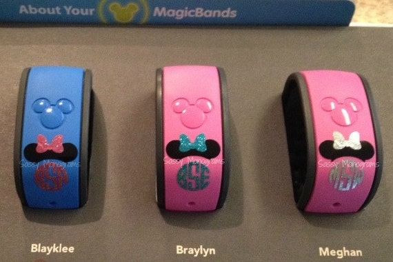 Magic Band Vinyl Decals Custom Vinyl Decals - Magic band vinyl decals