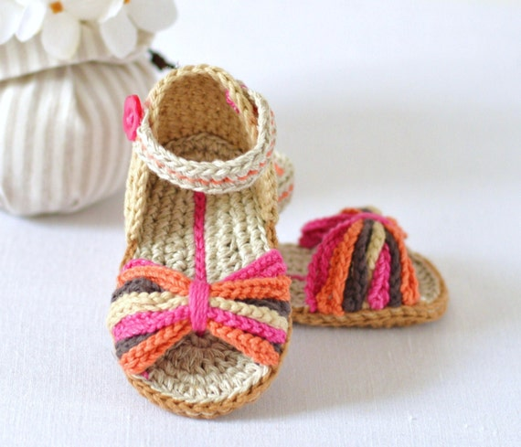 Crochet Pattern Baby Sandals Paris Style Baby Shoes Easy Crochet