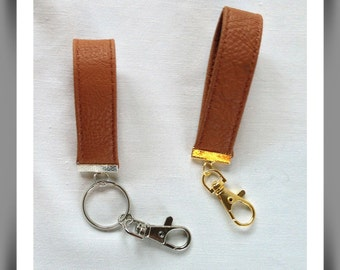 Mens leather key chain, Upcycled leather accessories, Mens accessories