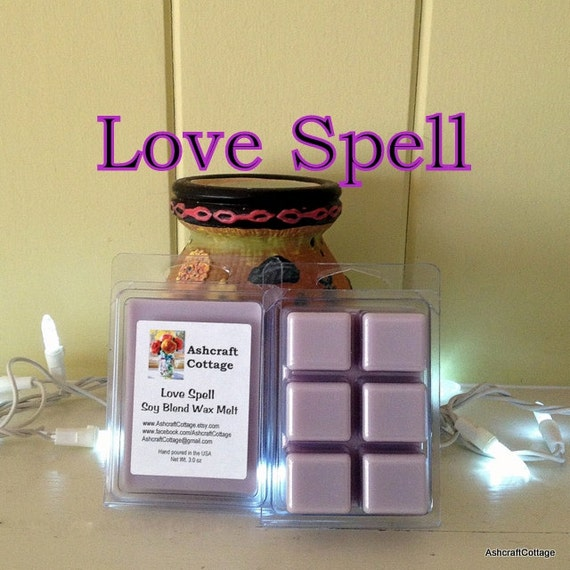 Items Similar To Love Spell Scented Wax Melts Soy Melts