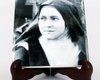 Catholic saints serie - St Therese of Lisieux - religious gifts - catholic gifts - Saint Therese of Lisieux - The Little Flower - Faith