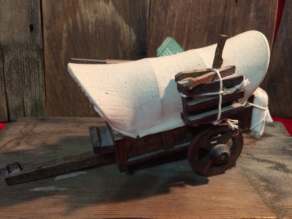 Western Wooden Covered Wagon By 2barnpickers On Etsy