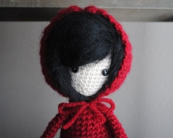 Knitting Pattern For Little Red Riding Hood Doll : RED RIDING HOOD DOLL KNITTING PATTERN   KNITTING PATTERN