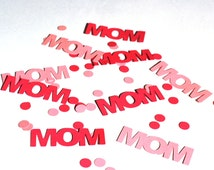 Mother's Day Confetti - Mom Confetti - Mom - Mother - Confetti - Mother's Day - Mother's Day Decoration - Pink Confetti - Yellow Confetti