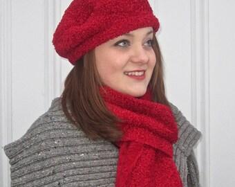 Polartec® Curly Fur Fleece Beret