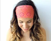 Yoga Headband - Fitness Headband - Stella Print - Running Headband - Workout Headband - Non Slip Headband
