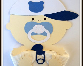 Cubbie Baseball Baby Boy Baby Shower Napkins