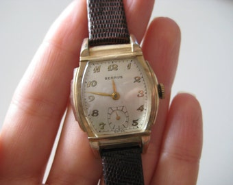 BENRUS Swiss 10 K Gold plated Vintage Lady's Watch