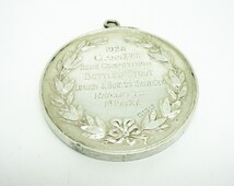 Solid Silver Brewers & Allied Traders Medal, Sterling, 1st Prize, Hallmarked Birmingham 1928, Mappin Webb, Bottled Stout, REF:241X