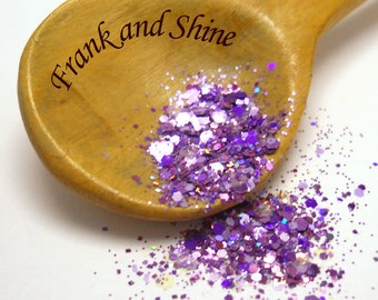 Purple Bliss Solvent Resistant Nail Glitter Mix