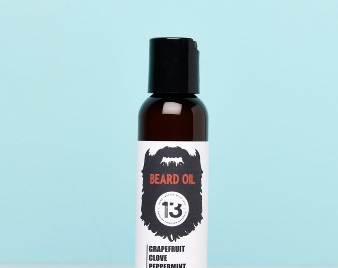 Peppermint, Grapefruit and Clove Beard Conditioning Oil