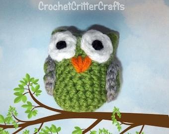 Crochet Owl, Amigurumi Owl, Owl Crochet, Owl Amigurumi, Owl Toy, Owl Ornament, Home Decor