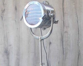 Nautique lampadaire tr pied antique look vintage par thedezinez - Lampe de photographe ...