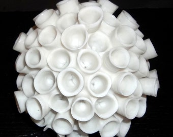 ON SALE WAS 18.00...Ceramic Coral Home Decor