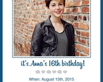 Instagram Event Invitation