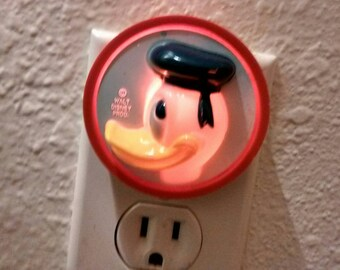 Donald Duck Night Light On Etsy A Global Handmade And