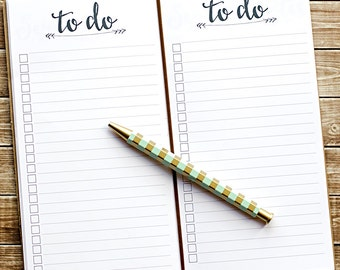 Midori Traveler's Notebook sized planner insert printable - to do