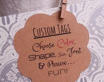 25 Custom Wedding Favor Tags, Personalized Wedding Favor Tags, Custom Favor Tags, Personalized Favor Tags