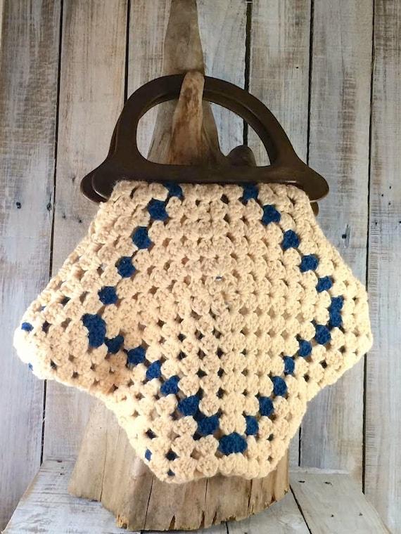 Vintage Knitting Bag : Vintage knitting bag caddy by