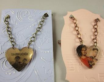 Fandom Inspired Necklace, Supernatural Necklace,Dean Winchester,Sam Winchester