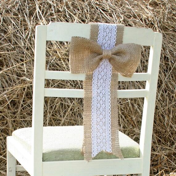 Rustic Wedding Chair