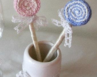 Lollipop Decor Crochet Pattern