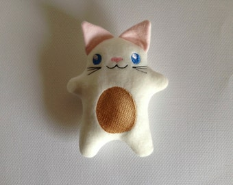 Embroidered Kitty / Stuffed Toy