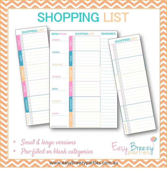 Il_570xn  Printable Shopping List With Categories