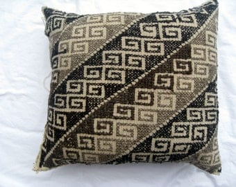 Vintage Hand Embroidered Pillow Cover #16